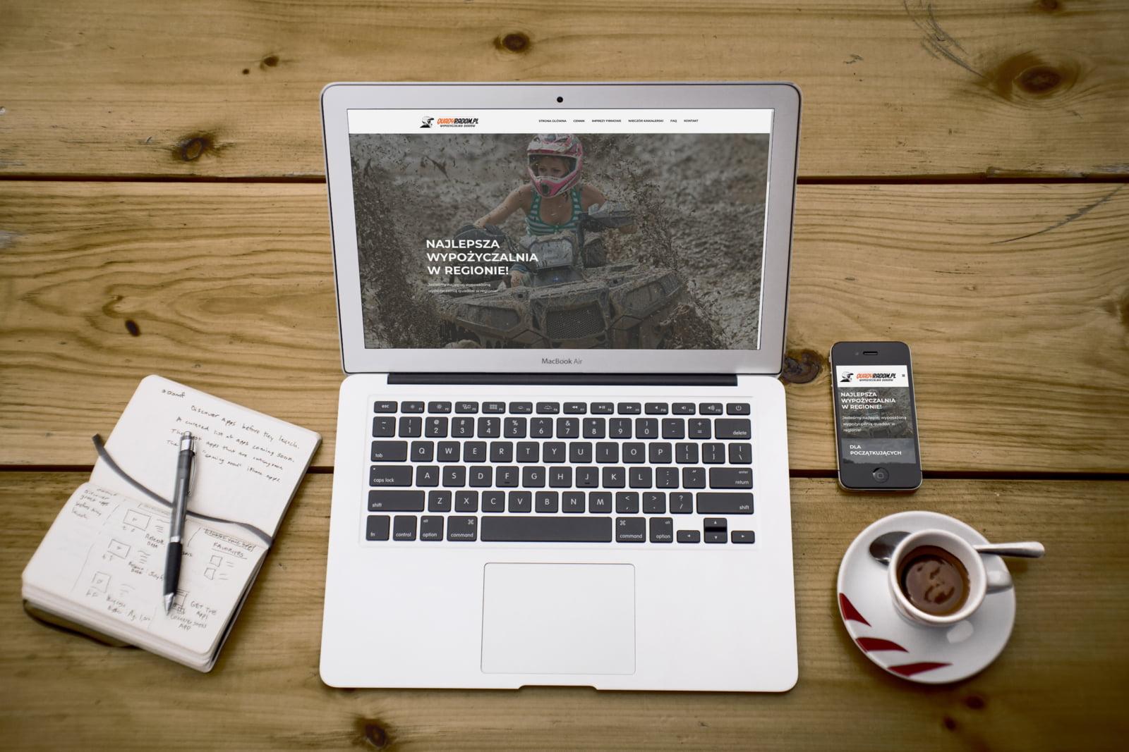 ATV/SSV rental website